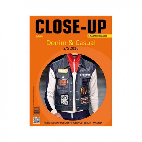 CLOSE UP 13 MAN DENIM & CASUAL S-S 2016