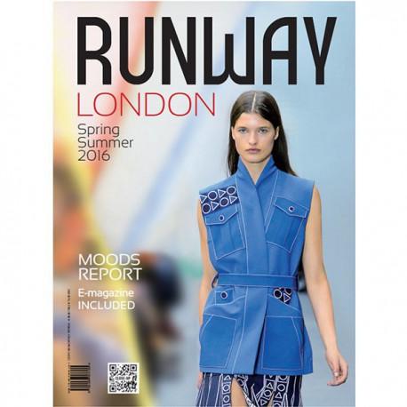 CLOSE UP RUNWAY LONDON S-S 2016