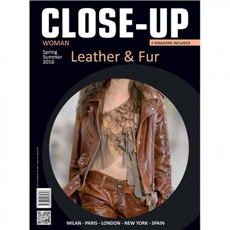 CLOSE-UP WOMAN LEATHER & FUR S-S 2016