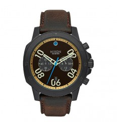 NIXON WATCHES RANGER CHRONO LEATHER