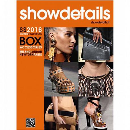 SHOWDETAILS BOX ACCESSORIES S-S 2016