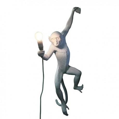 SELETTI HANGING MONKEY WALL LAMP