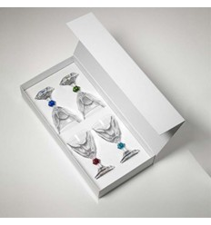 MARIO LUCA GIUSTI SET 4 GLASSES WINE Shop Online