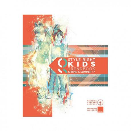 STYLE RIGHT KIDSWEAR TRENDBOOK S-S 2017 INCL. DVD