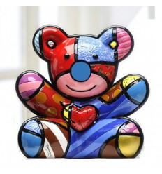 BRITTO FIGURINA ORSO CUDDLY LIMITED EDITION