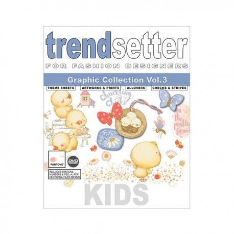 TRENDSETTER KIDS GRAPHIC COLLECTION VOL 3 INCL DVD
