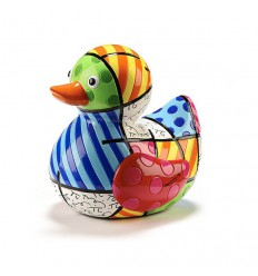 ICONIC FIGURINE - BRITTO PRINT DUCK Shop Online