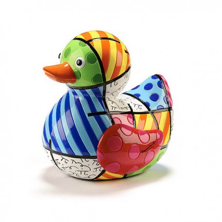 ICONIC FIGURINE - BRITTO PRINT DUCK