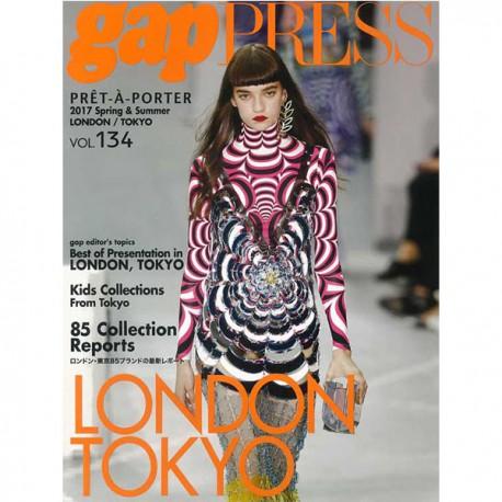GAP PRESS LONDON -TOKYO 134 S-S 2017