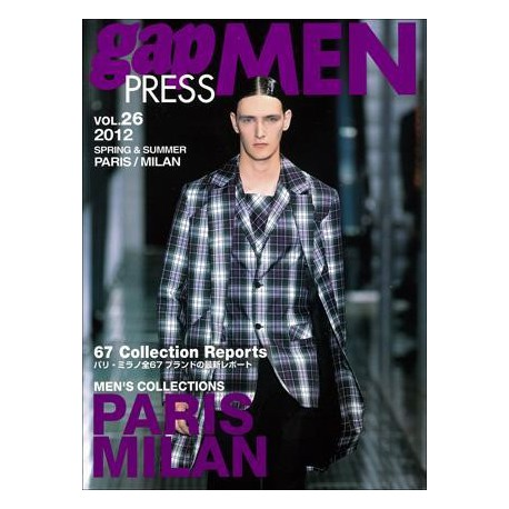 GAP PRESS MEN 26 S-S 2012