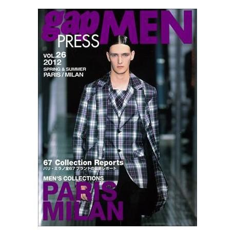 GAP PRESS MEN 26 S-S 2012 Shop Online