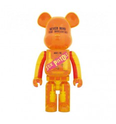 1000% Bearbrick Sex Pistols Clear Shop Online