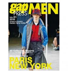 GAP PRESS MEN 51 PARIS NY SS 2018