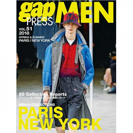 GAP PRESS MEN 51 PARIS NY SS 2018