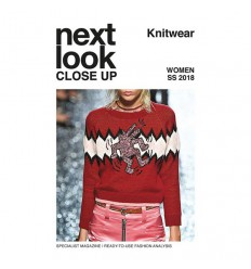 NEXT LOOK CLOSE UP KNITWEAR MEN 03 SS 2018