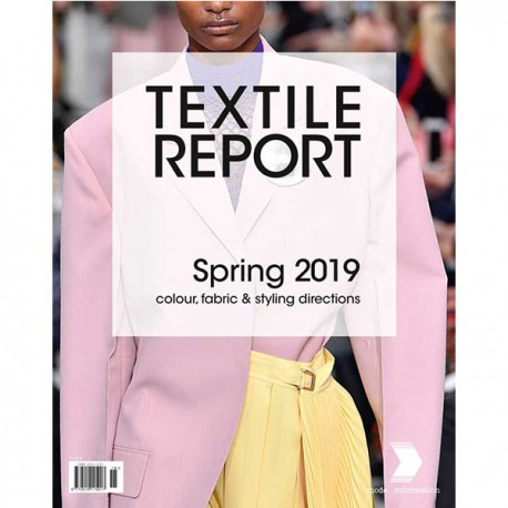 INTERNATIONAL TEXTILE REPORT 1-2018 SS 2019