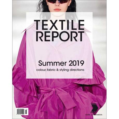 INTERNATIONAL TEXTILE REPORT 1-2018 SS 2019