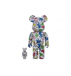 400% & 100% Bearbrick Keith Haring Shop Online