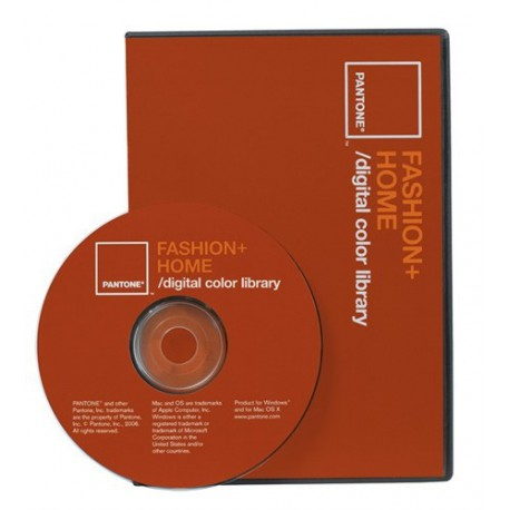 PANTONE FASHION + HOME digital color library - CD