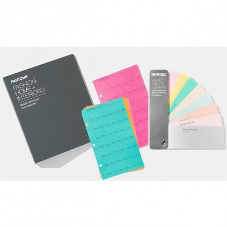 Pantone Metallic Shimmers Set (Specifier and Guide)