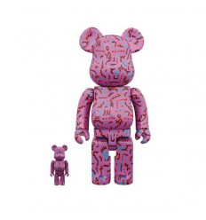 400% & 100% Bearbrick Keith Haring 2 Shop Online