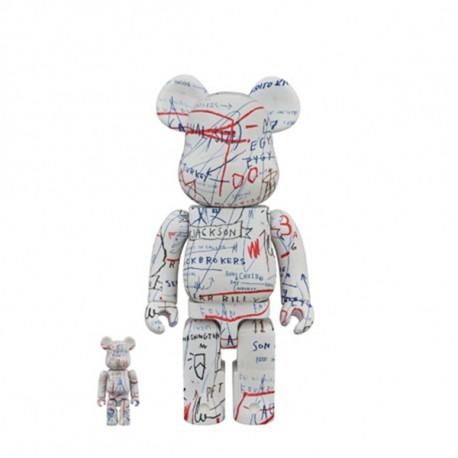400% & 100% Bearbrick Jean Michel Basquiat