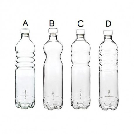 GLASS BOTTLE SI-BOTTLE SELETTI
