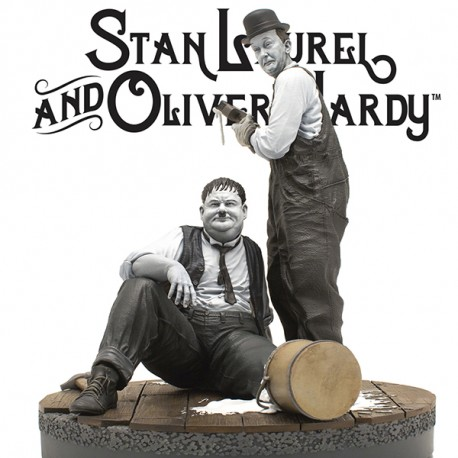 """LAUREL & HARDY """"Another nice mess"""" - INFINITE STATUE"""