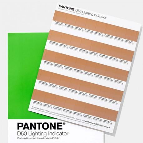 Pantone Lighting Indicator Stickers D65
