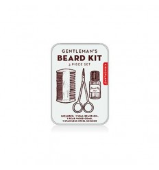 KIKKERLAND GENTLEMAN'S BEARD TIN