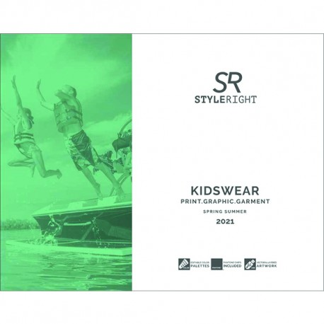 STYLE RIGHT KIDSWEAR TRENDBOOK SS 2021 INCL. DVD Miglior Prezzo
