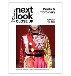 NEXT LOOK CLOSE UP PRINT & EMBROIDERY 07 SS 2020 Miglior Prezzo