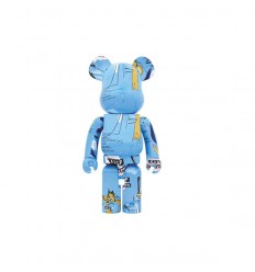 1000% Bearbrick JEAN-MICHEL BASQUIAT 4