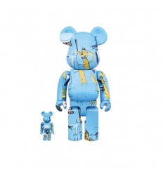 400% & 100% Bearbrick Jean Michel Basquiat