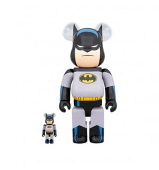 400% & 100% Bearbrick BATMAN THE ANIMATED SERIESS 2-PACK
