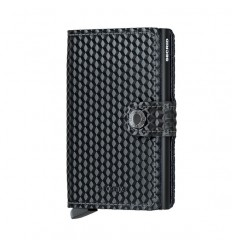 SECRID MINI WALLET CUBIC BLACK