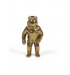 SELETTI COSMIC DINER STARMAN VASE GOLD