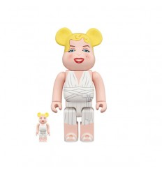 400% & 100% BEARBRICK MARILYN MONROE