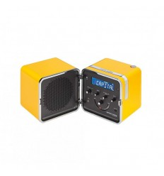 Brionvega RADIO.CUBO TS522DS SPECIAL EDITION YELLOW SUN