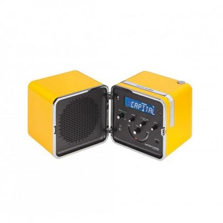 Brionvega RADIO.CUBO TS522DS EDIZIONE SPECIALE GIALLO SOLE