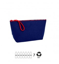 ESSENT'IAL Clutch cloth blue recycled bottles