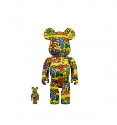 400% & 100% Bearbrick Keith Haring