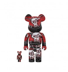 400% & 100% BEARBRICK Jean Michel Basquiat 5