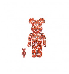 400% & 100% BEARBRICK KEITH HARING 6