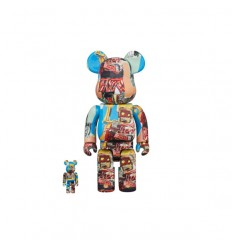 400% & 100% BEARBRICK JEAN-MICHEL BASQUIAT 6