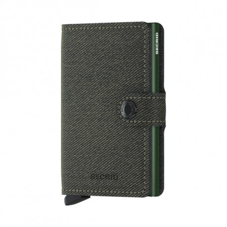 SECRID MINI WALLET TWIST GREEN
