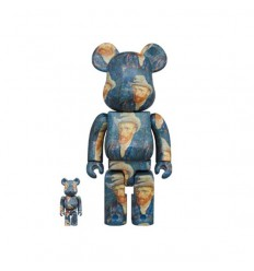 400% & 100% BEARBRICK VAN GOGH SELF PORTRAIT