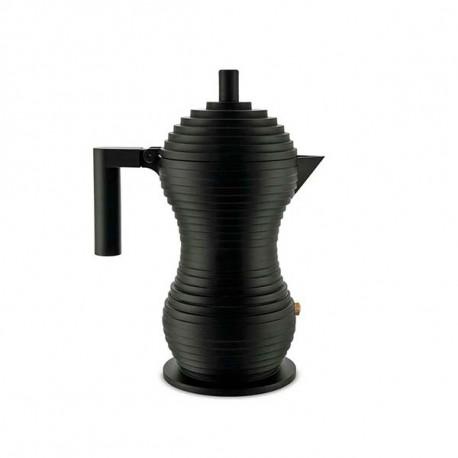 ALESSI - PULCINA ESPRESSO COFFEE MAKER BLACK Shop Online