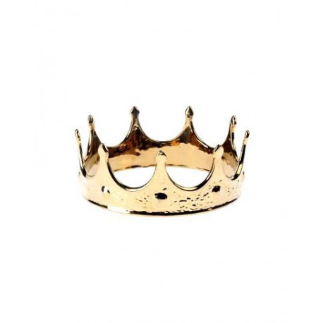 LA MIA CORONA GOLD EDITION IN PORCELLANA SELETTI Shop Online