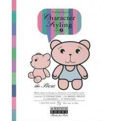 Character Styling Vol. 2 The Bear incl. CD-Rom